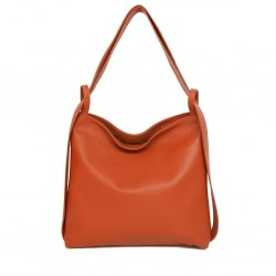 TERRY LEATHER BAG...