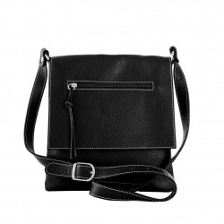 Shoulder Bag With Flap with...