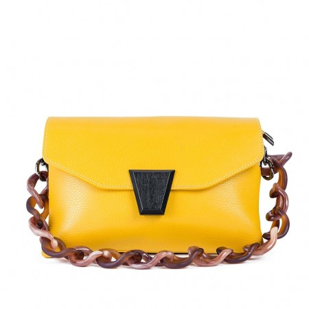 CLARA Bag with Short Handle and Strap