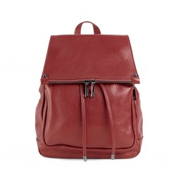 ZAIRA Leather Backpack with...