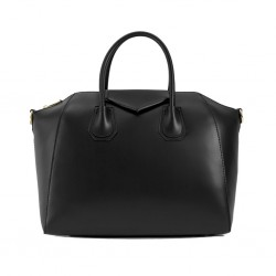 WENCY Leather Handbag with...