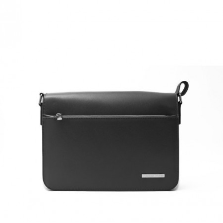 Franco Medium Leather Briefcase with...