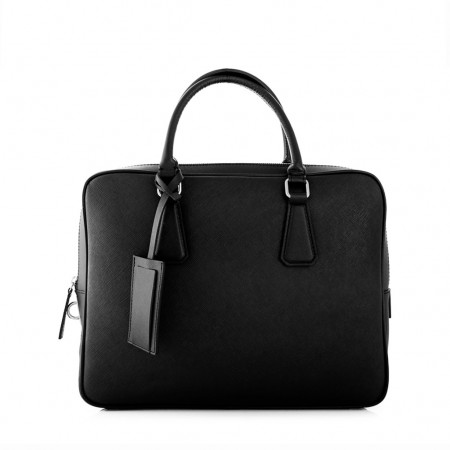 LUCKY Leaher Briefcase in Genuine...