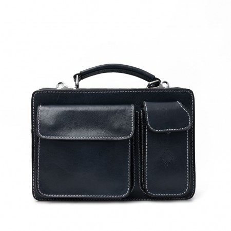 MAR214 SMALL LEATHER BRIEFCASE