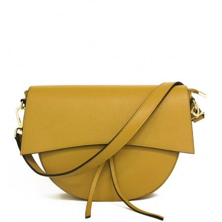 GRETA LEATHER SHOULDER BAG