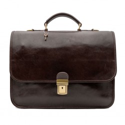 Mar224 Leather Briefcase 2...