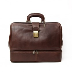 Leather Doctor Bag With...