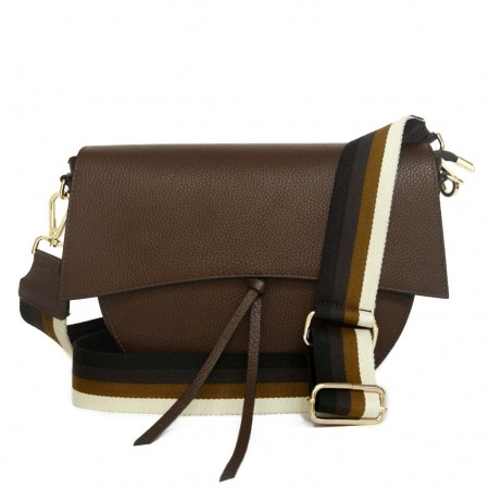 GRETA SHOULDER BAG WITH DOUBLE HANDLE