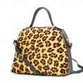 BEATRICE BAG IN PRINTED PYTHON