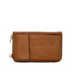 Wallet with external pocket...