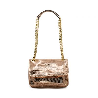 Elettra Small Leather bag with...