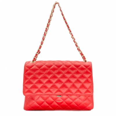 Aurora XL Quilted Leather bag with...